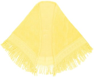 Balmain Pre-Owned fringed shawl