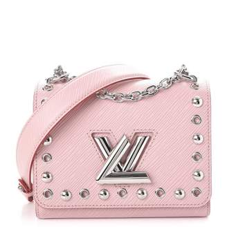 Louis Vuitton Crossbody Twist Epi Studded PM Rose Ballerine