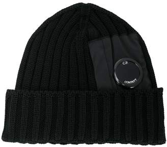 C.P. Company lens detail knitted hat