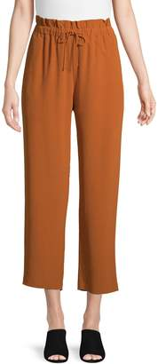 Eileen Fisher Classic Straight Paperbag Pants