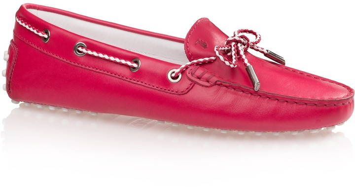 Tod's Gommino Driving Shoe with Front Tie