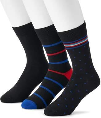 Hanes Men's 3-pack Ultimate Fresh IQ Crew Socks