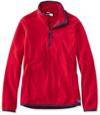 L.L. Bean L.L.Bean Soft-Brushed Fitness Fleece Pullover, Quarter-Zip