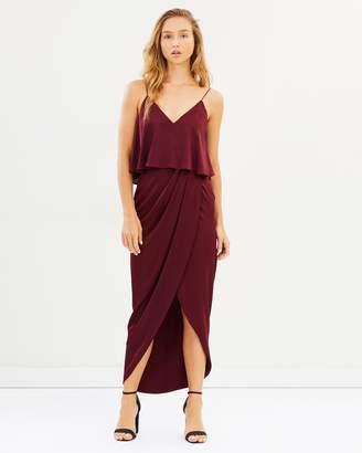 Shona Joy Cocktail Frill Dress