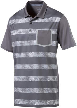 Camo Stripe Polo