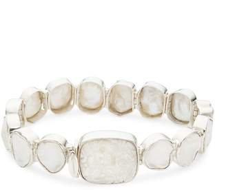 Stephen Dweck Women's Keshi and Mother-of-Pearl and Sterling Silver Link Bracelet