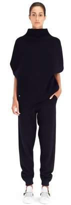 Lanvin Midnight Blue Rib Knit Sweater