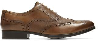 Clarks Gilmore Limit Leather Oxford Shoes