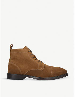 Kurt Geiger London Fenchurch suede ankle boots