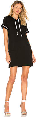 Bobi Rayon Terry Mini Dress