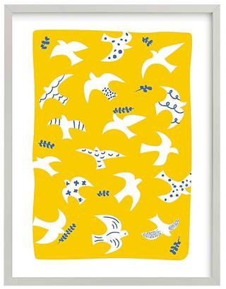 Pottery Barn Kids west elm x pbk Taking Flight Wall Art by Minted