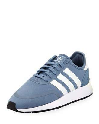 adidas N-5923 Fabric Sneakers with Leather 3-Stripes