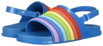 Mini Melissa Mini Beach Slide Sandal Rainbow Girl's Shoes