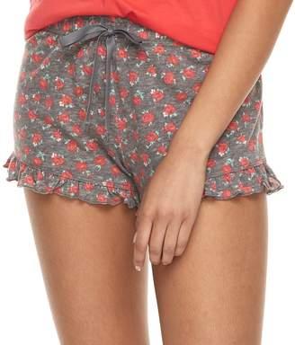 So Juniors' SO Ruffle Pajama Shorts