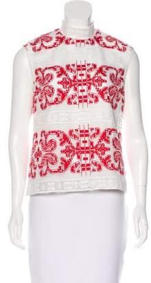 Alexis Sleeveless Crochet Top