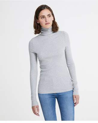 AG Jeans The Chels Turtleneck - Heather Grey