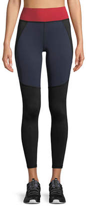 Michi Tidal High-Rise Paneled Leggings