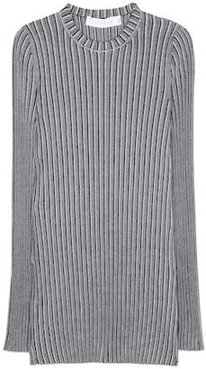 Victoria Beckham Rib-knitted top