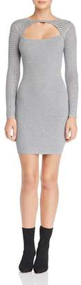 GUESS Allison Cutout Sweater Dress