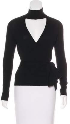 Diane von Furstenberg Wool & Cashmere Wrap Sweater