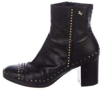 Zadig & Voltaire Leather Ankle Boots