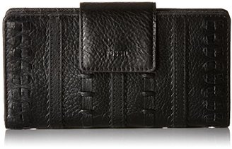 Fossil Emma Tab Wallet Rfid, Brown $60 thestylecure.com