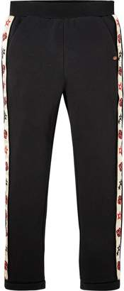 Scotch & Soda Embroidered Side Panel Sweat Pants