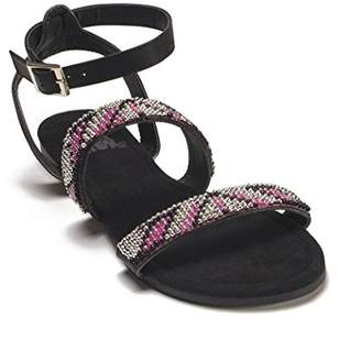 Muk Luks Women's Gemma Beaded Gladiator Sandal