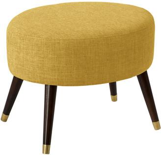 Skyline Furniture Oval Ottoman