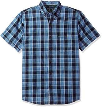 G.H. Bass & Co. Men's Short Sleeve Madawaska Plaid Trail Shirt