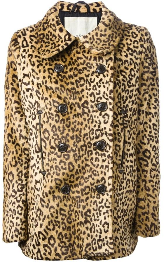 Ralph Lauren Denim & Supply leopard print coat