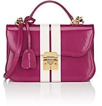 Mark Cross Women's Dorothy Leather Shoulder Bag - White, Pink