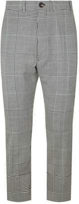 Vivienne Westwood Cropped Patchwork Check Trousers