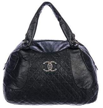 Chanel Calfskin Coco Rider Bowling Bag