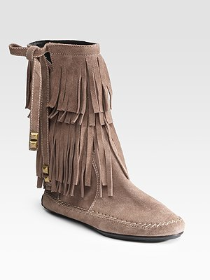 Juicy Couture Tara Fringe Boots