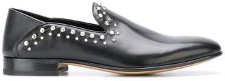 Alexander McQueen studded loafers