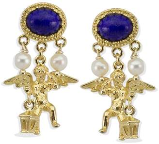 Lapis Vintouch Italy - Cherubini Earrings