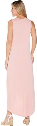 Lisa Rinna Collection Cross Hem Maxi Tank Dress