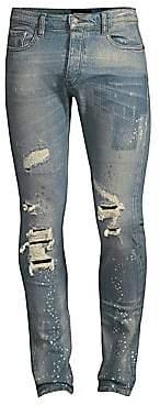 The Kooples Men's Distressed Splatter Jeans