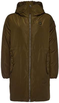 Blauer Impermeable Down Coat