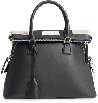 Maison Margiela Medium 5AC Leather Handbag