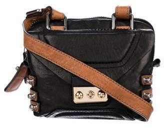 3.1 Phillip Lim Grained Leather Crossbody Black Grained Leather Crossbody
