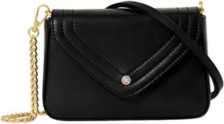 Freida Rothman Maiden Leather Crossbody Bag