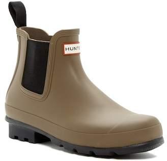 Hunter 'Original' Waterproof Chelsea Rain Boot (Men)