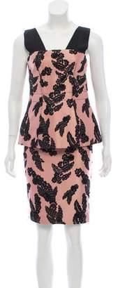 Marc Jacobs Sleeveless Midi Dress