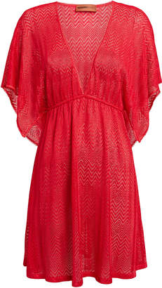 Missoni Mare Coral Cover-Up Dress