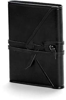 Aspinal of London Envelope Wrap Pocket Notebook
