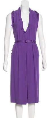 Marc Jacobs Pleated Midi Dress
