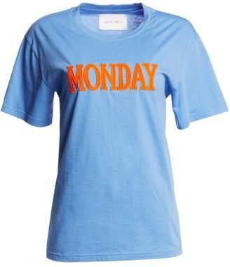 Alberta Ferretti Days Of The Week Monday T-Shirt