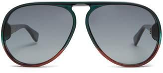 Christian Dior Diorlia aviator sunglasses